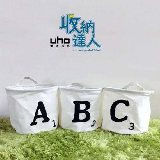 收納袋/圓桶收納/ABC防水小圓桶