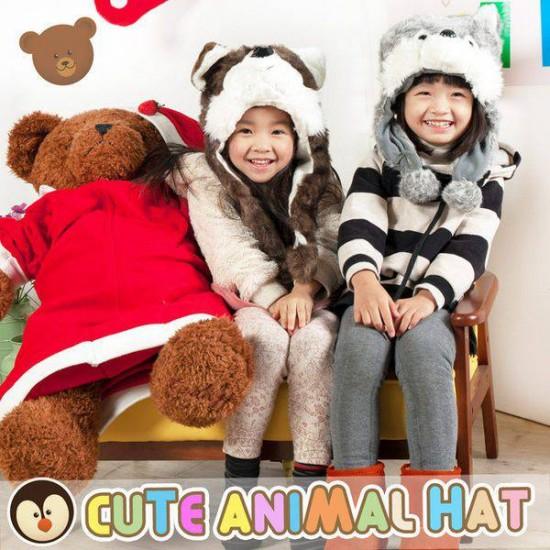 超Q動物造型帽保暖帽兒童帽